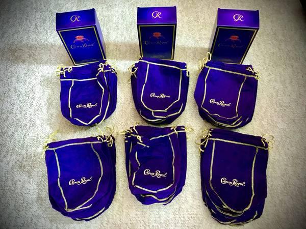 Photo Crown Royal Bags - $40 (NW Ohio)