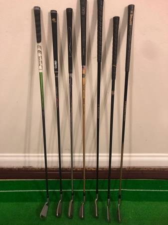 Photo Golf Driving Irons - Nike, Srixon, Cobra, others - $10 (Sylvania, OH)
