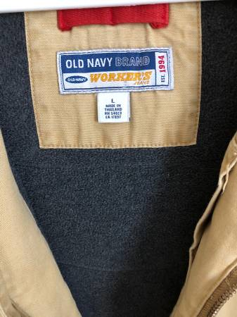 Photo Guys carhart style jacket from Old Navy - $20