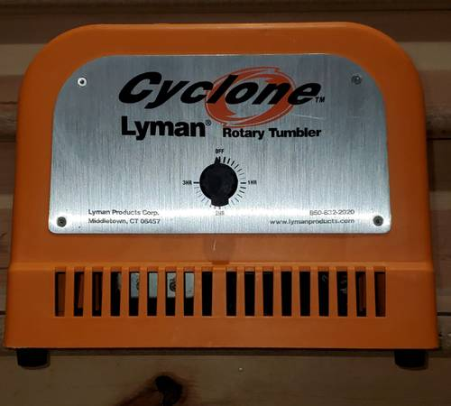 Photo New, Lyman Cyclone Rotary Tumbler - $195 (Lambertville)
