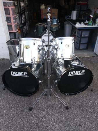 Photo Peace Elevation Double Bass Drum Set - $400 (Toledo, Ohio)
