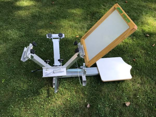 Photo Ryonet 4 Color Screen Printing Press quotNew  Never Usedquot - $100 (Temperance)