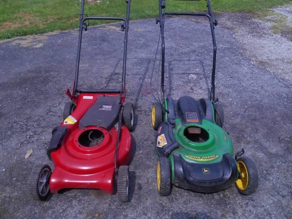 Photo Self Propelled lawn mower decks Craftsman John Deere - $30 (Toledo)