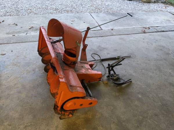 Photo Simplicity 36quot Snow ThrowerBlower Attachment - $150 (Curtice)