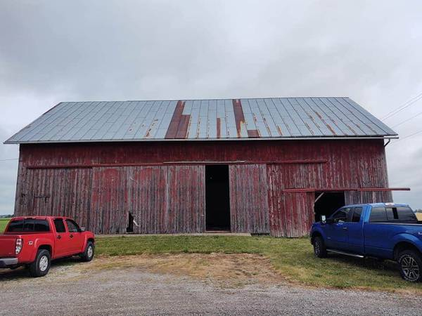 Photo Timber Frame Barn Fame  Sears and Roebuck (Napoleon)