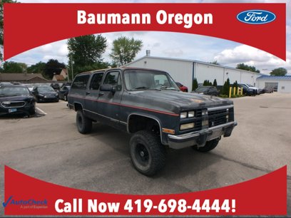 Photo Used 1991 Chevrolet Suburban 4WD for sale