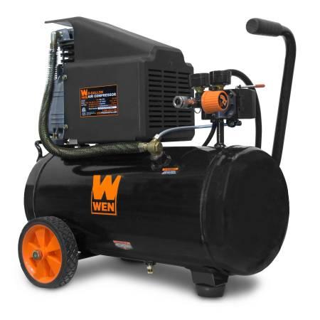 Photo WEN 2287 6-Gallon Oil-Lubricated Portable Horizontal Air Compressor - $98 (Toledo)