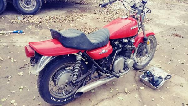 Photo WTB Kawasaki KZ900 KZ1000 Z1 MKII Z1R - $5,000 (Toledo area)