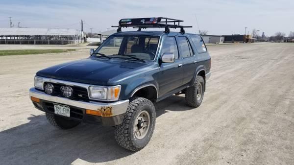 Photo 1994 Toyota 4runner - $3000 (Emporia)