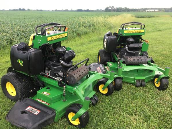 Photo 2014 John Deere 648r quick trac 48 deck 22hp Kawasaki - $2,250