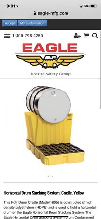 Photo EAGLE 1605, Drum cradle YELLOW - $75 (Blue Springs)