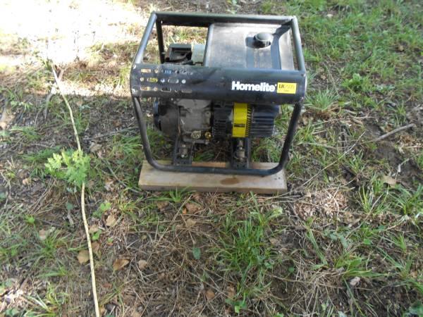 Photo Homelite HL2500 gas generator - $300 (Valley Falls)