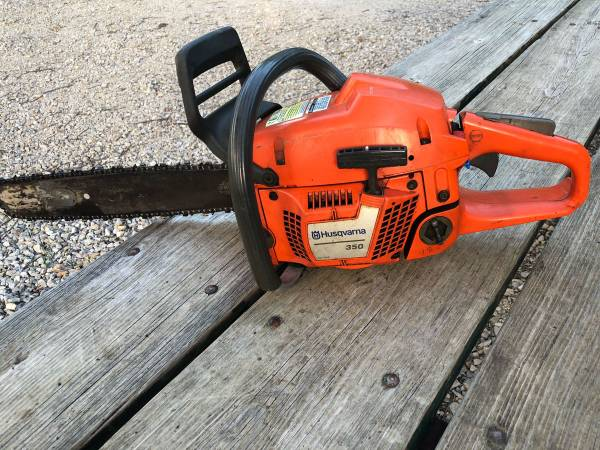Photo Husqvarna 350 Chainsaw - $175