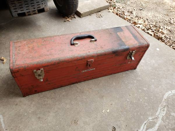 Photo Large Craftsman Toolbox - $30 (Topeka)