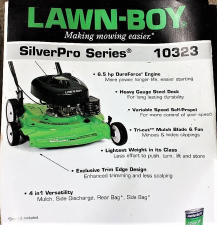 Photo Lawn-Boy 10323 21quot SilverPro Series mower, 1998 non-working - $49 (Wakarusa)