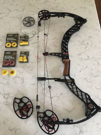 Photo Left handed Mathews Z7 bow - $375