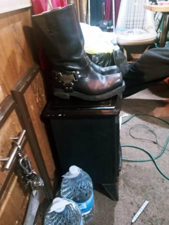 Photo Mens Harley Davidson Boots - $40 (Topeka)