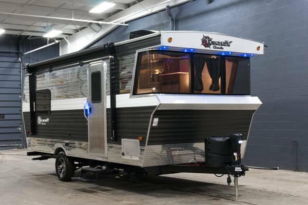 New 2018 Terry Classic V21 Travel Trailer Vintage Camper Retro - $15990 (GRAND RAPIDS)  RV, RVs
