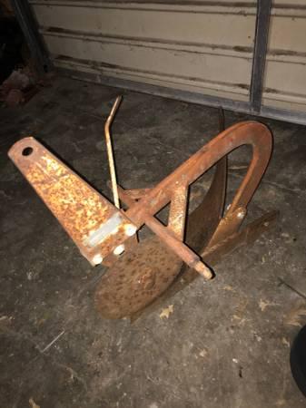 Photo Sears suburban garden tractor moldboard plow - $175