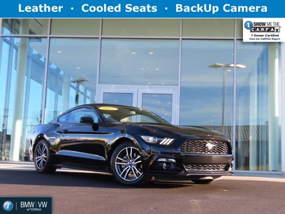 Photo Used 2015 Ford Mustang Premium Coupe for sale