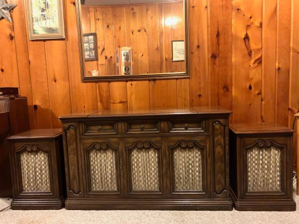 Photo Vintage Quadraphonic Console Stereo - Zenith Solid State Allegro - $250 (Topeka)