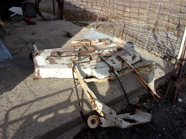 Photo woods belly mower - $275 (axtell)
