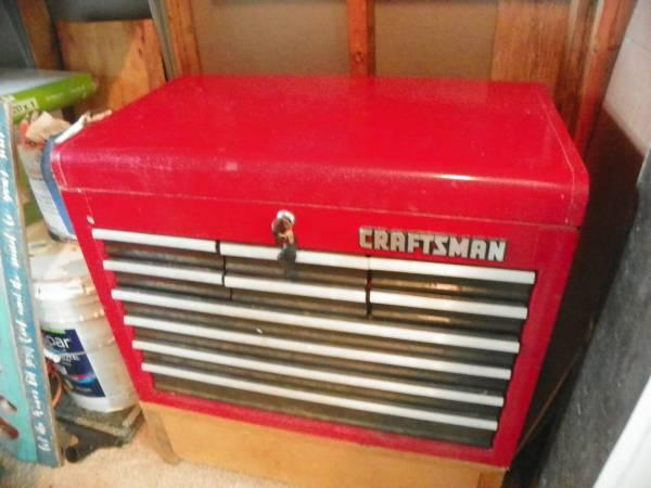 Photo 10 draw craftsman tool box - $325 (vero beach)
