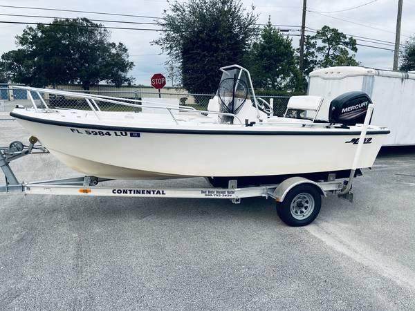 Photo 17ft Mako Center Console Fishing Boat - $17,000 (Vero Beach)