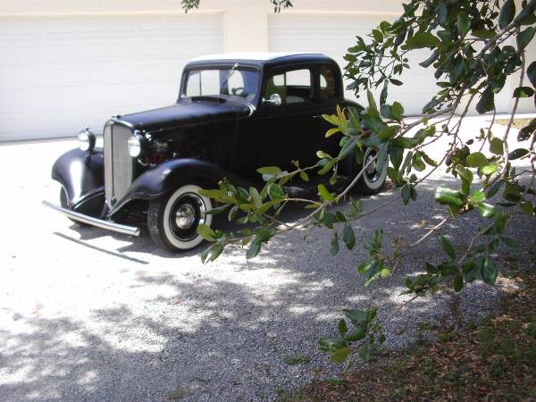 Photo 1933 chevy all steel old school hot rod with AC - $28,000 (fort pierce)