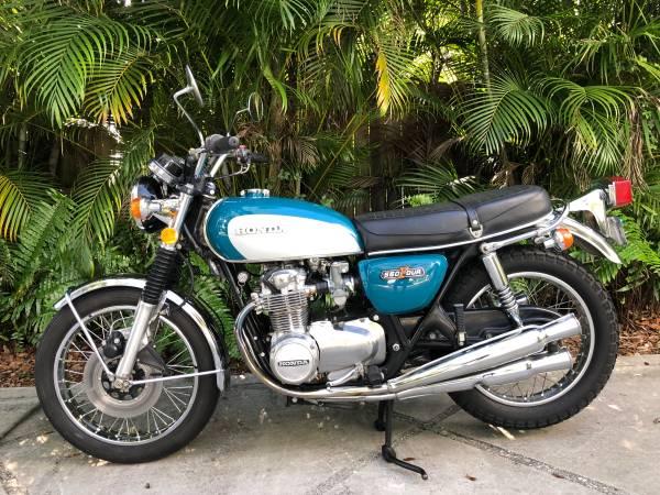 Photo 1974 Honda CB550 - $3,900 (Vero Beach)