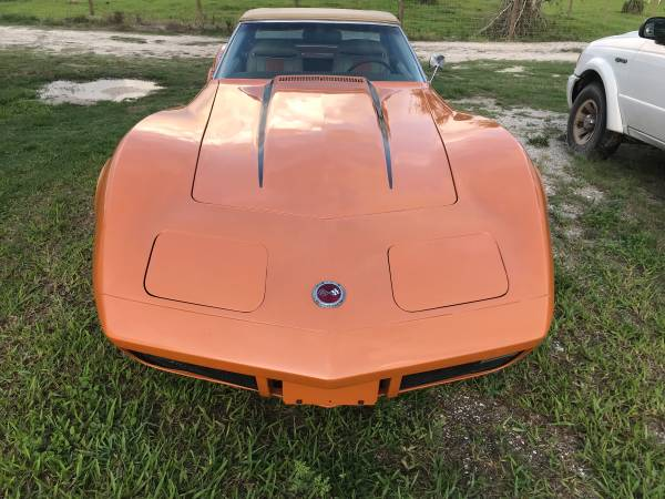 Photo 1974 corvette stingray convertable 4 speed - $18000 (Okeechobee)