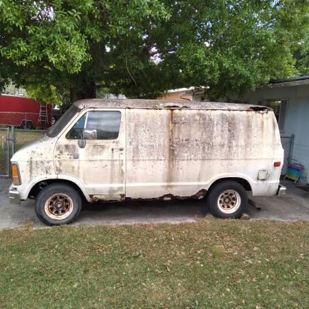 Photo 1987 dodge Ram Cargo Van - $375 (Fort Pierce)