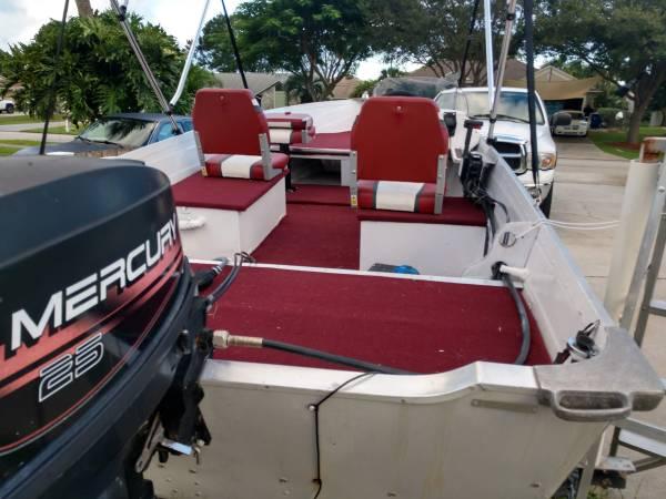 Photo 1996 Sylvan 14 Ft Aluminum Boat - $2,200 (Sebastian)