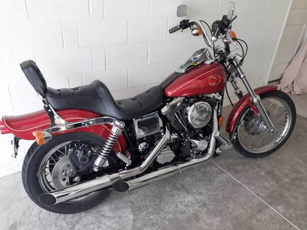 Photo 1998 Harley Davidson Wideglide - $6,000 (Port st Lucie)