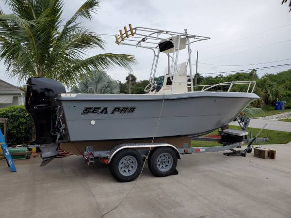 Photo 1999 sea pro 21 ft - $12 (Vero beach fl)