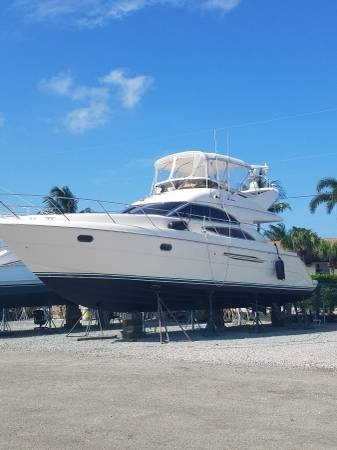 Photo 2000 45 Princess Viking sport cruiser needs finishing - $150,000 (Stuart)