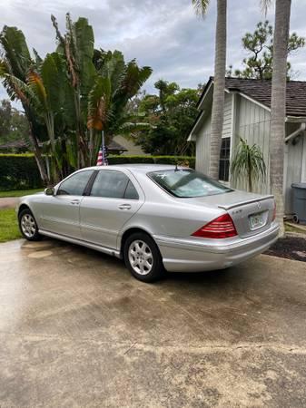 Photo 2000 Mercedes S430 - $2,000 (Jensen Beach)