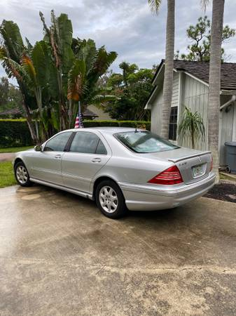 Photo 2000 Mercedes S430 - $3,150 (Jensen Beach)