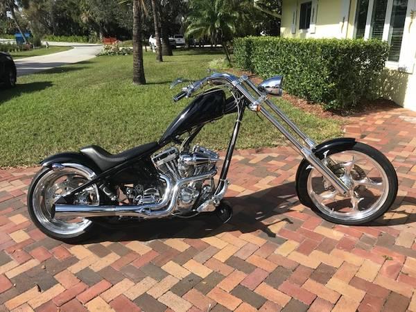 Photo 2004 Big Dog Ridgeback Chopper - $8,200 (Stuart)
