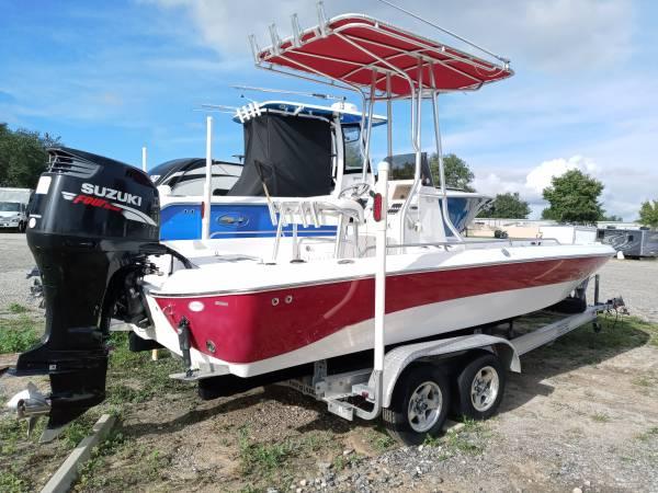 Photo 2007 22ft nauticstar bay boat center console - $22,900 (Minneola)