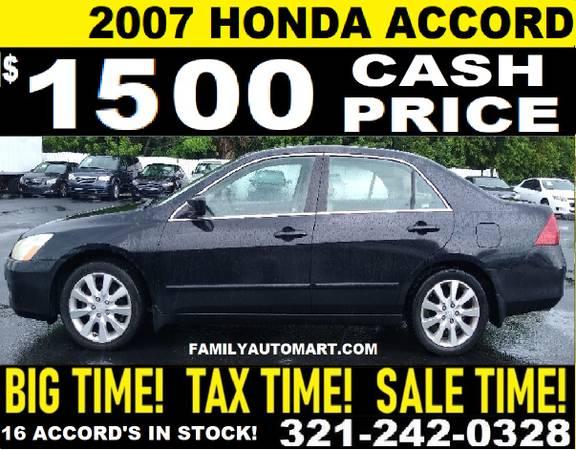 Photo 2007 HONDA ACCORD - $1,500 (35 VEHICLES UNDER $3000)