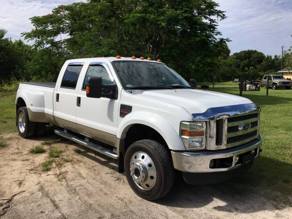 Photo 2009 FORD F-350 ONLY 99K MILES 4WD LARIAT (772) 212-3005 BIG BOY - $27,800 (FINANCING AVAILABLE  PSL, FL)