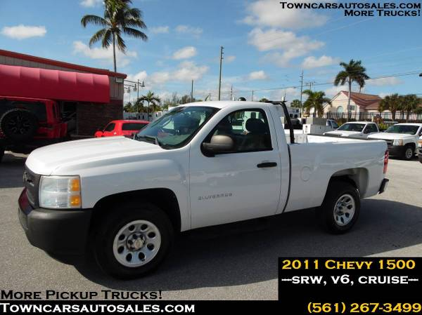 Photo 2011 Chevy 1500 Pickup Truck Pick up work Truck Silverado - $8950 (Towncarsautosales.com, Chevy Pickup)
