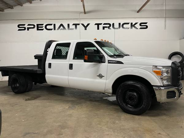 Photo 2012 Ford F350 Super Duty Crew Cab  Chassis 176quot W.B - $21,500 (Fort Pierce)
