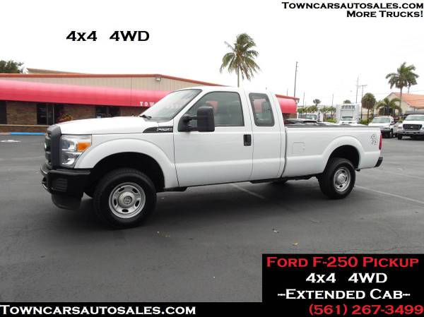 Photo 2013 Ford F250 F-250 4X4 4WD Extended Cab Pickup Truck Pick Up Truck - $26,900 (4x4 4WD)