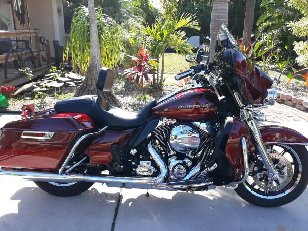 Photo 2016 Harley Davidson Ultra Classic Limited Low with Removable Tour Pak - $17,400 (Jensen Beach)