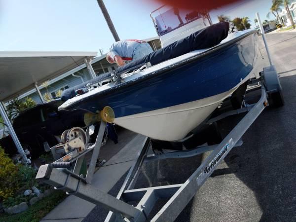 Photo 21 ft center console fishing boat - $15,000 (Port Saint Lucie)