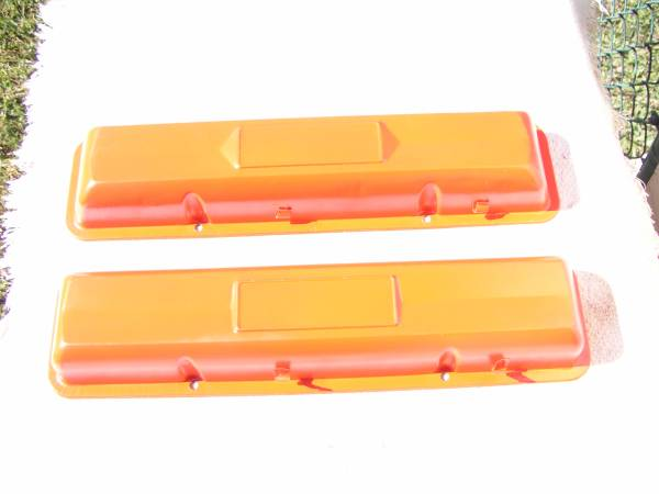 Photo 327 Chevy Steel OEM Valve Covers - $75 (PSL)