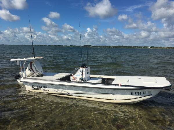 Photo Carolina Skiff 1655 DLX Custom - $16,500 (Port St Lucie)