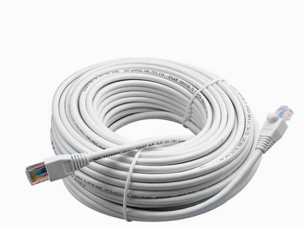 Photo Cat 6 Network Cable 100ft  Coaxial Wires  Computer Speakers Key - $20 (Jensen Beach)